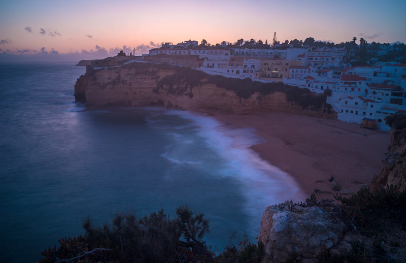 Algarve Carvoeiro Beach Photography 2 at Sunset Messagez com