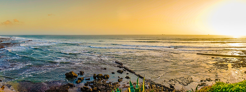 Portugal Coast Panorama Fine Art Photography 6 By Messagez