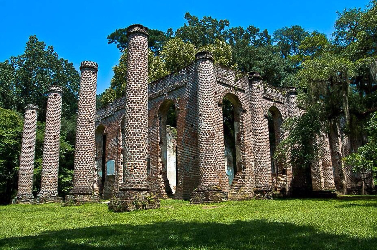 Old Sheldon Ruins, South Carolina