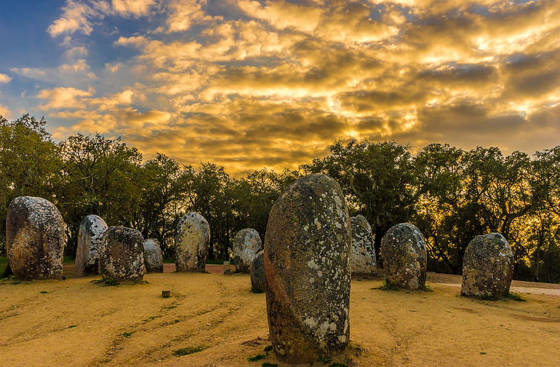 Portugal Cromlech of the Almendres Megalithic Magic Photography 43 By Messagez com