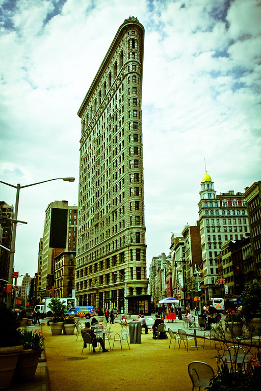 New York City, NY: Flatiron building in Manhattan.