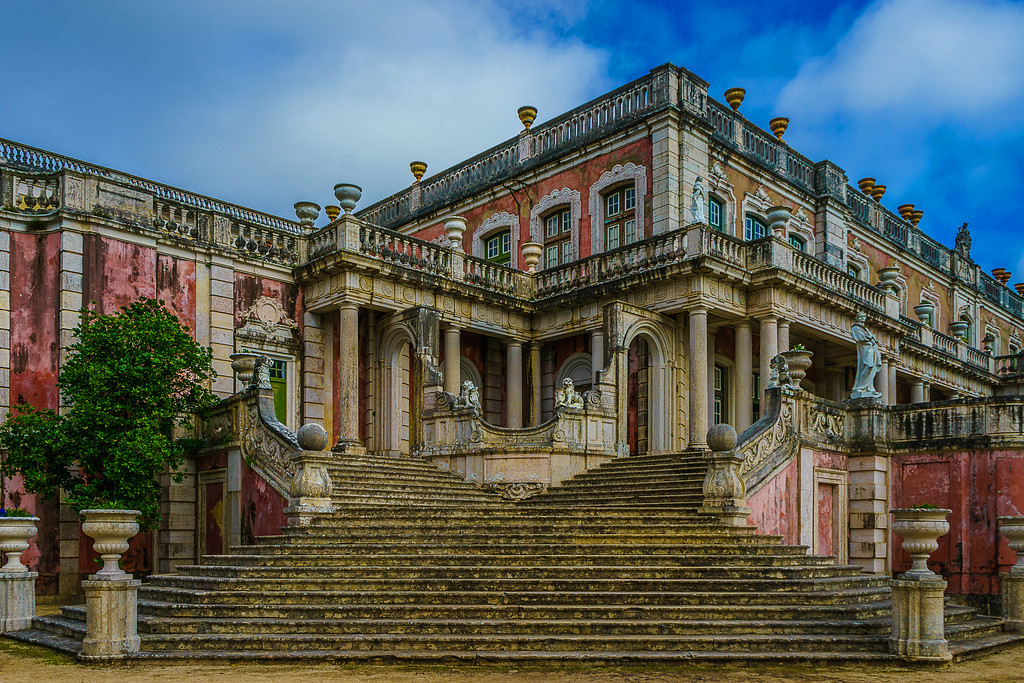 Queluz National Palace Fine Art Photography By Messagez com