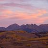 Autumn Sunset outside of Telluride, CO