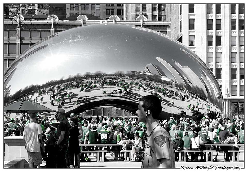 Cloud Gate, Chicago, Illinois