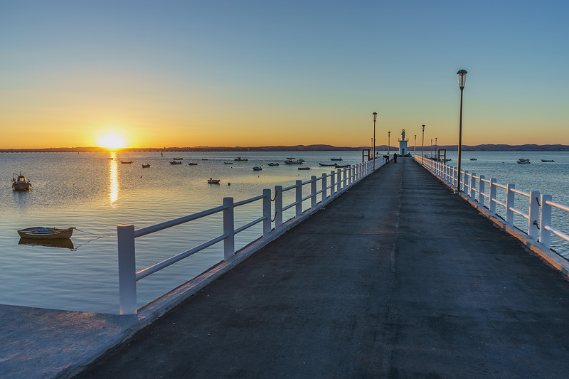 Portugal Alcochete Sunset Pier Photography By Messagez com