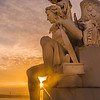 Lisbon Triumphal Arch Viewpoint Sunset Photography 13 By Messagez com
