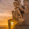 Lisbon Triumphal Arch Viewpoint Sunset Photography 13 By Messagez com
