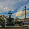 Lisbon Downtown Fountain Photography By Messagez com