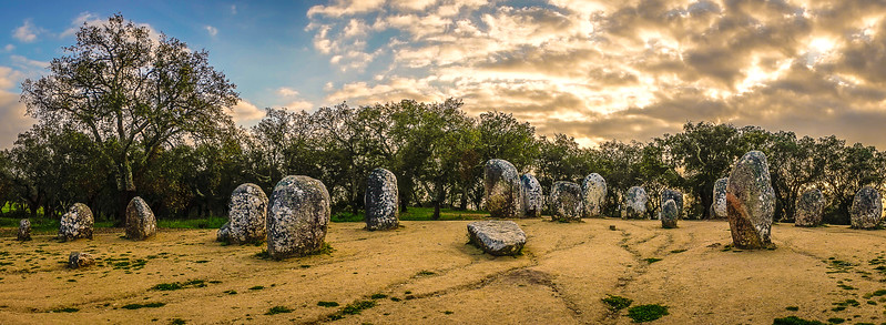 Portugal Cromlech of the Almendres Megalithic Magic Photography 29 By Messagez com