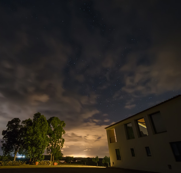 Looking at The Stars in Alentejo Portugal By Messagez.com