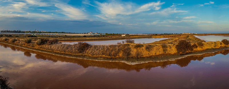 Portugal Salt Lake Panorama Photography 2 By Messagez com