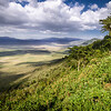 View of Ngorongoro Crater, Tanzania, East Africa