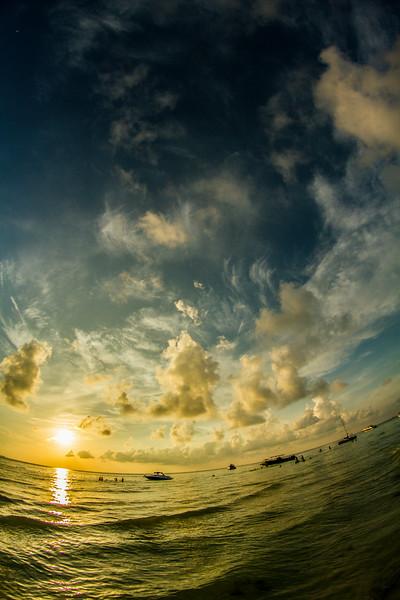 Isla Mujeres, Mexico: Sunset
