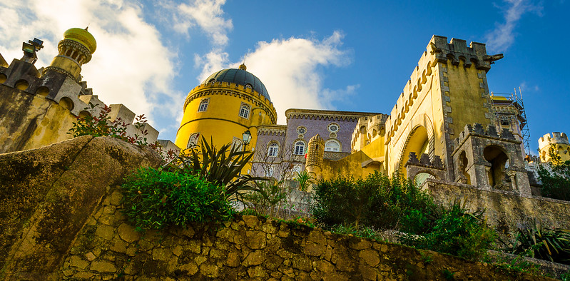 Magical Sintra Palace Photography 2 By Messagez.com