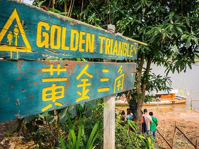 Golden Triangle. Thailand/Laos/Myanmar