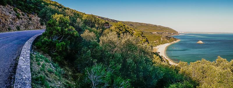 Portugal Arrabida Beach Panorama Photography By Messagez com
