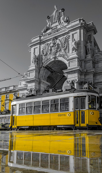 Original Magical Portugal Lisbon Tram Photography 6 By Messagez com