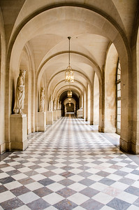 Palais du Versailles - Hallway