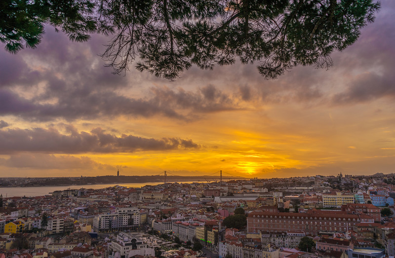 The Magical Lisbon Viewpoint Photography at Sunset Messagez com