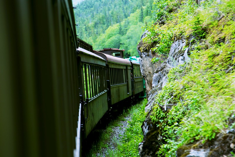 White Pass and Yukon Route, narrow-gauge railway, Skagway Alaska