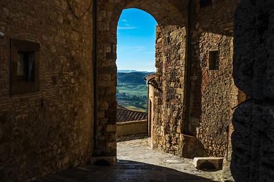 Pienza (Tuscany), Italy