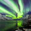 Christmas Day, 2016 aurora near Tromsø, Norway