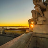 Lisbon Augusta Street Triumphal Arch Viewpoint Sunset Photography 2 By Messagez com