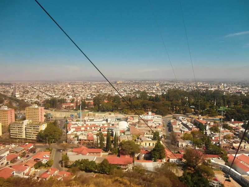 Ascending Over Salta, Argentina