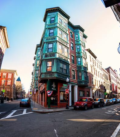 Historic architecture in Boston's North End