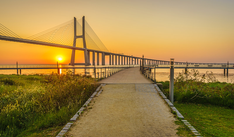 Best of Lisbon Bridge Sunrise Photography By Messagez com