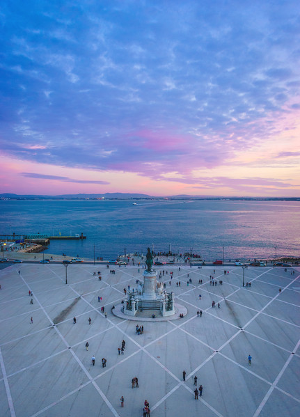 Lisbon Triumphal Arch Viewpoint Sunset Photography 20 By Messagez com