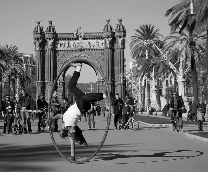 Arc Triomph, Barcelona. 2015.