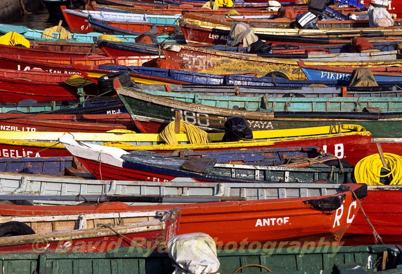 Fishing Harbor, Antofogasta, Chile