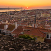 Inside The Lisbon Castle at Sunset Photography 4 By Messagez com