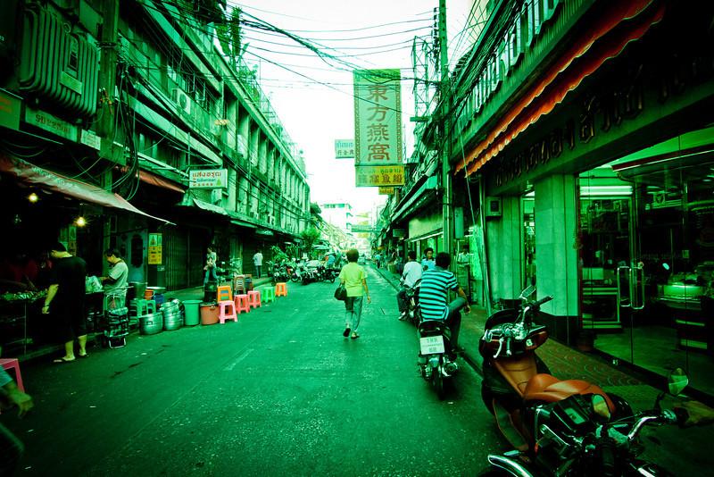 Bangkok, Thailand: Street life.