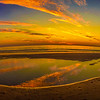 Portugal Lisbon Beach Sunset Panorama Photography By Messagez.com