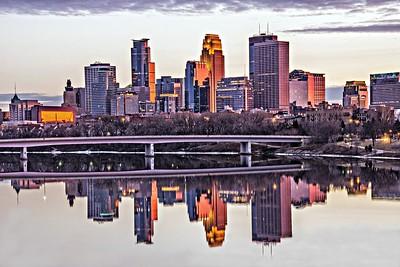 Minneapolis MN skyline