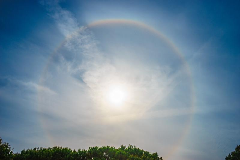 Original Lisbon Sun Halo Photography 2 By Messagez com