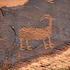 Petroglyph along Utah Scenic Byway 279, Potash Road near Moab, Utah