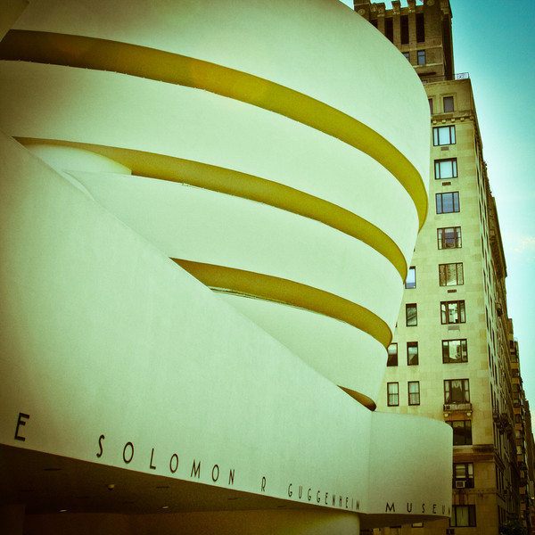 New York City, NY: Guggenheim Museum in Manhattan.