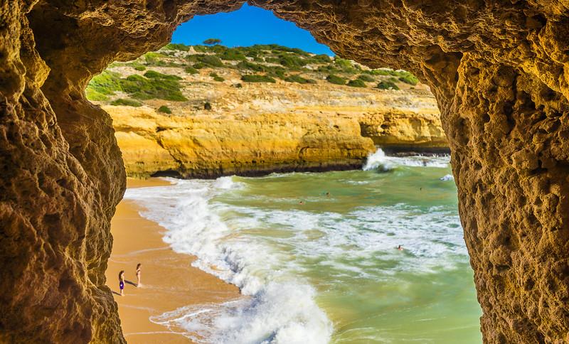Best of Algarve Beaches Photography Praia do Carvalho 4 By Messagez com
