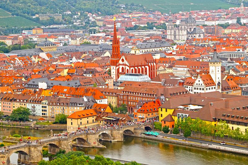 Würzburg, Bavaria, Germany.