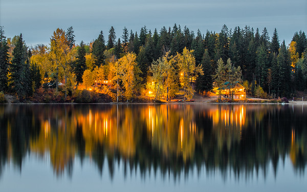 Ness Lake Fall