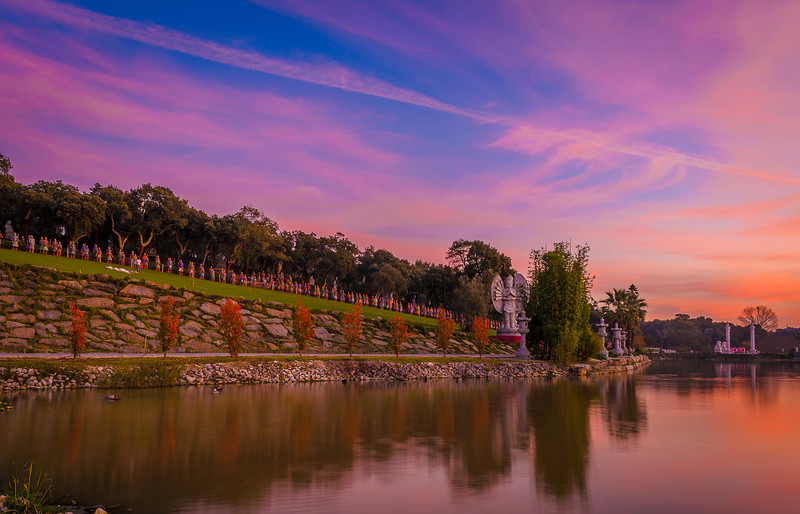Portugal Buddha Eden at Sunset Photography 3 By Messagez com