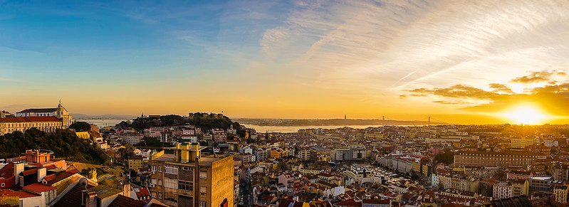 Best of Lisbon Panoramic Art Viewpoints Photography 2 By Messagez com