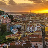 Lisbon Graceland Viewpoint Sunset Photography By Messagez com