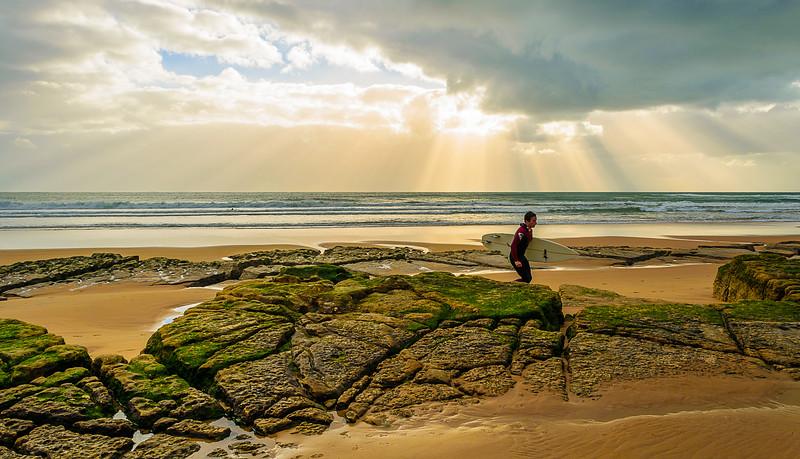 Lisbon Beach Fine Art Photography By Messagez com