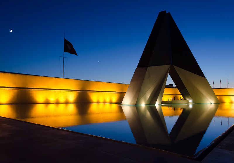 Lisbon Monument at Night