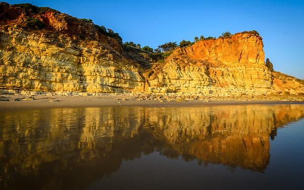 Algarve Beach Reflection