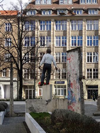 Berlin.  Wall Memorial